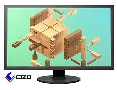 EIZO ColorEdge CS2740 68,4 cm (27 Zoll) Grafik Monitor (DVI-D, HDMI, USB 3.1 Hub, USB 3.1 Typ C, DisplayPort, 10 ms Reaktionszeit, Auflösung 3840 x 2160 (4K UHD), Wide Gamut) schwarz