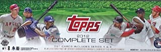 2012 Topps Baseball 666 Card Factory Sealed Hobby Holiday Factory Set with Bryce Harper Variation Rookie Card ! Includes Five(5) Exclusive Limited Edition Numbered Orange-bordered Parallel Cards!! Set Includes All Your Favorite Baseball Stars Including Ma