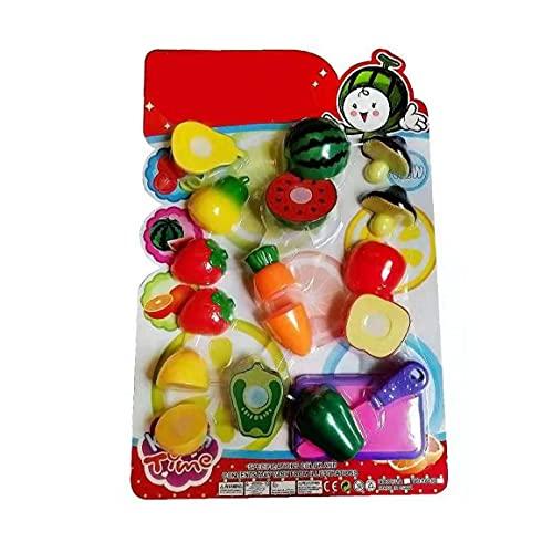 Simulado De Corte De Fruta Niños Inicio Juguetes, Juguete Corte De La Cocina Juego De Cocina De Plástico Cocina Que Cocina Los Juguetes Educativos para Los Niños De Los Niños 10pc