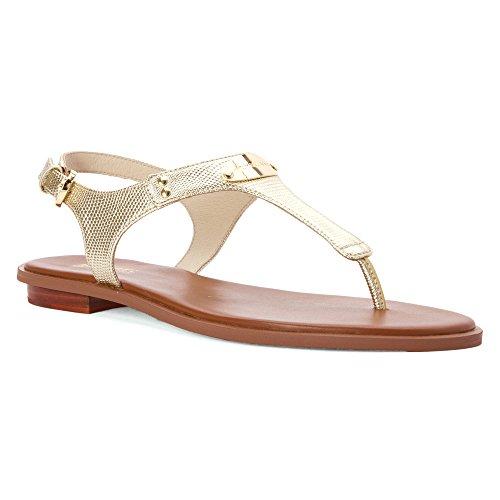 MICHAEL MICHAEL KORS MK PLATE Sandalen/Open schoenen dames Goud Sandalen/Open schoenen