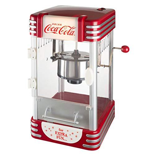 Coca-Cola Coke 38-2C-005 - Máquina de palomitas luminosas (50 x 25 x 27 cm), color gris y transparente