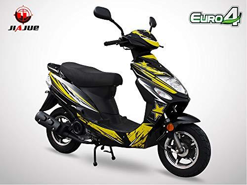 bon comparatif Scooter 50cc 4T – Spiro 50 – JIAJUE – Edition limitée 2020 – Jaune un avis de 2021