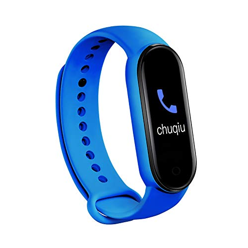 Monitor de Actividad con Bluetooth M5 Monitor de Actividad con Monitor de Ritmo Cardíaco con Pantalla Táctil Completa Contador de Calorías Reloj Podómetro para Mujeres Y Niños