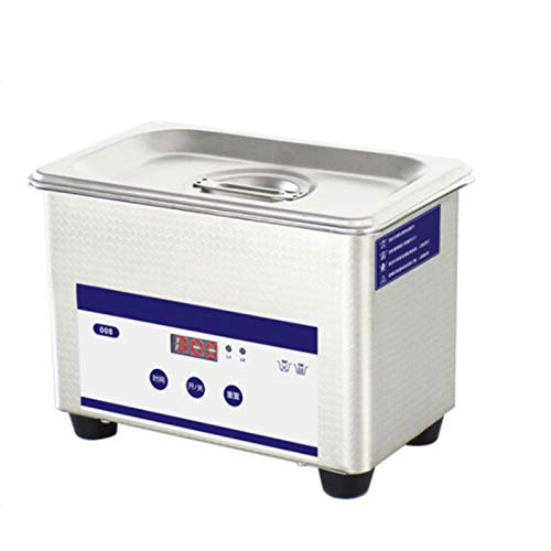 middle Ultraschallreinigungsgerät Ultraschallreiniger Ultraschallgerät,800 ml 42000 Hz Schmuckreinigungsmaschine,Einstellbarer Timer(1.5-30 Minuten) Reinigen von Gläsern,Schmuck,Uhren,Rasierapparaten