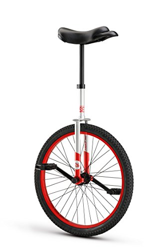 RALEIGH Unistar SE 24, 24inch Wheel Unicycle, Red