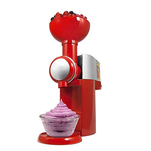 110-220V design fai-da-te macchina per gelatiera dimensioni portatili uso domestico automatico macchina per dessert di frutta congelata - rosso