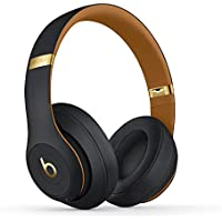 Beats Studio3 Wireless Noise Cancelling Over-Ear Headphones (Midnight Black, Latest Model)