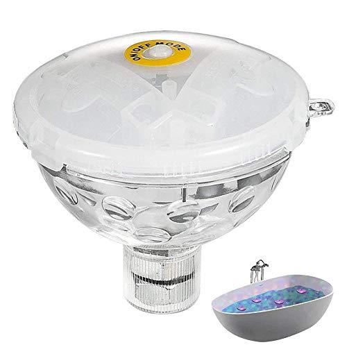 YOUNICER LED Floating Light Pool Light Teichlampe Farbwechsel Globe Floating Night Light für Pool Teich Badewanne SPA Dekoration