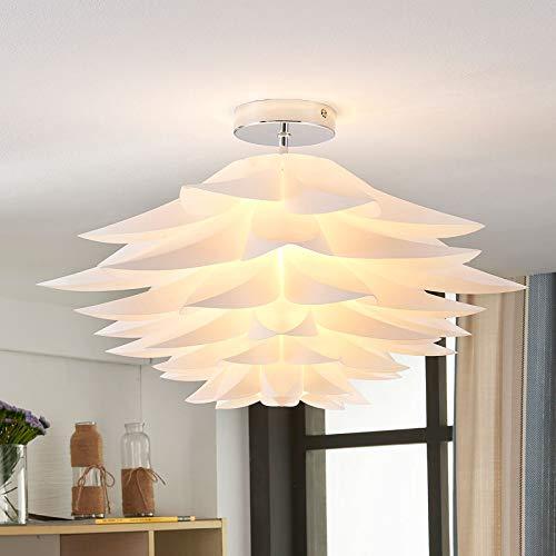 Lindby Deckenlampe 'Rimon' (Modern) in Weiß u.a. für Wohnzimmer & Esszimmer (1 flammig, E27, A++) - Deckenleuchte, Lampe, Wohnzimmerlampe