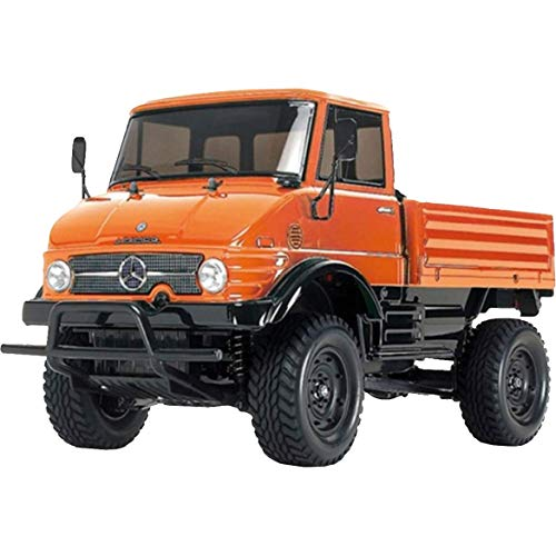 TAMIYA 300057843 - 1:10 RC XB Unimog 406 (CC-01), 2.4 Ghz, orange*