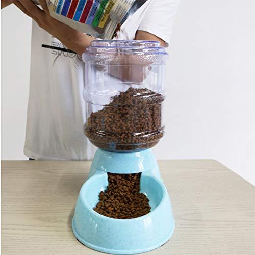FMC 3.5L Automatico Animali Cane Alimentatore del Gatto Verde Alimentare Ciotola del Cane di plastica tramoggia Animale Domestico può