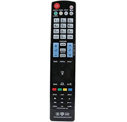 ALLIMITY Telecomando sostitutivo Universale per LG TV LCD LED HD
