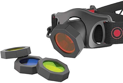 Zweibrüder Led Lenser Color Filter Set 35mm Black 2019 Lampenextras