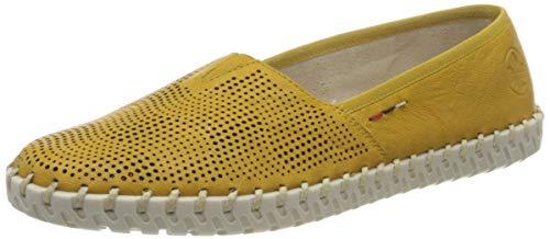 Rieker Damen Frühjahr/Sommer L1376 Slipper, Gelb (Yellow 68), 39 EU