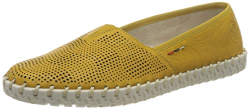 Rieker Damen Frühjahr/Sommer L1376 Slipper, Gelb (Yellow 68), 40 EU