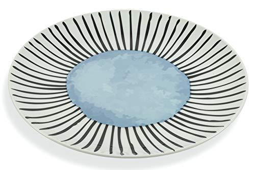 Villa D'Este Home Tivoli 2195365 - Juego de 4 platos de porcelana para esmalte de uñas
