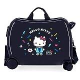 Hello Kitty Castle Maleta Infantil Azul 50x39x20 cms Rígida ABS Cierre combinación 38L 2,1Kgs 4 Ruedas Equipaje de Mano