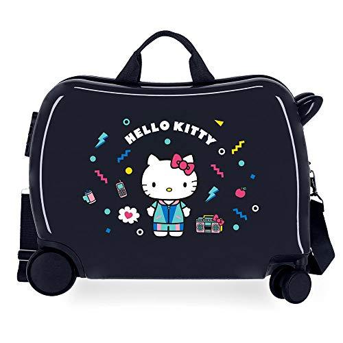 Hello Kitty Castle Valise Enfant Bleu 50x39x20 cms...