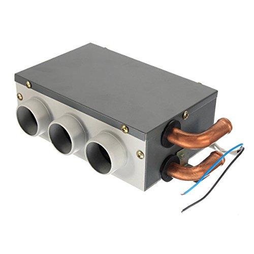 GNY Heizlüfter 12V 3-Loch Tragbare Autorenheizung Chilling-Kompressionsheizung Defroster Demister Auto Windschutzscheibenentfroster