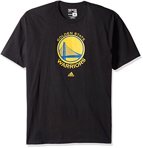 Adidas Golden State Warriors Schwarzes Primary Logo T-Shirt Gr. XL, Schwarz
