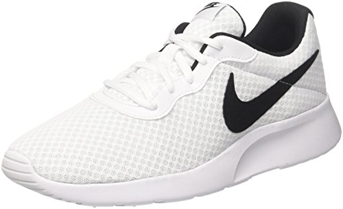 Nike Herren Tanjun Fitnessschuhe, Elfenbein (White/Black 101), 44 EU