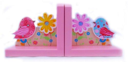 Simply for Kids - Boekensteun vogels - Roze