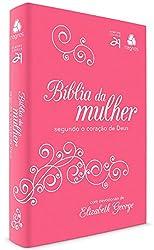 Bíblia da mulher segundo o coração de Deus - Pink/ Branca