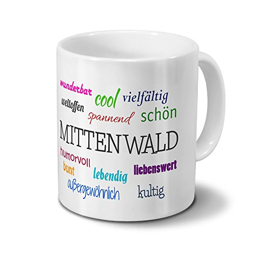 Städtetasse Mittenwald - Motiv