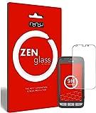 ZenGlass (2 Stück Flexible Glas-Folie kompatibel mit Doro Liberto 820 Mini Panzerfolie I Bildschirm-Schutzfolie 9H