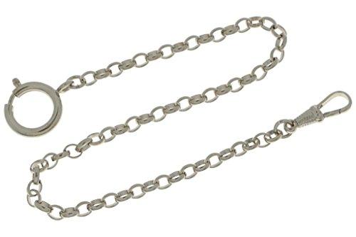 MTS Taschenuhrkette Erbskette oval 30 cm lang 4 mm dick hochwertig veredelt