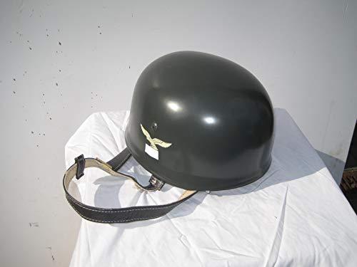 Unbekannt Stahlhelm Fallschirmjäger Luftwaffe Wehrmacht 2 Weltkrieg Gr. 56-60, Sammleranfertigung