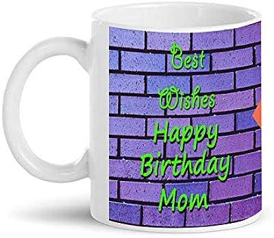 SarkarsPrint's Ceramic Personalised Photo Designed Mother's Day Coffee Mug 350ml (White)