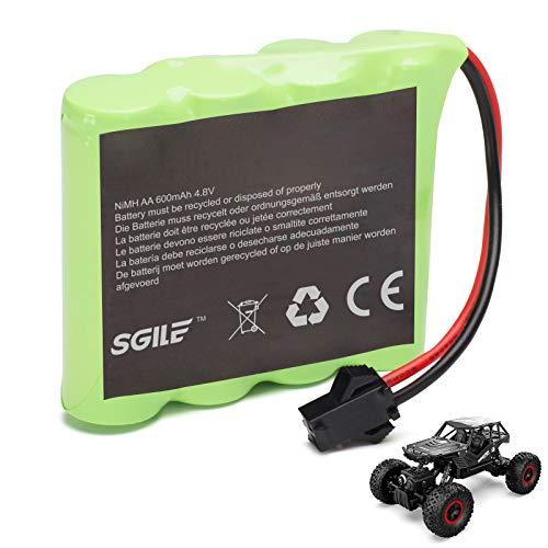 SGILE Batteria Ricaricabile per Auto Cingolata