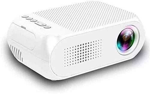 YUYANDE Mini proyector, actualizó 3000 Lux, proyector HDMI portátil, HD Completo de HD 1080P, Compatible con Pantalla inalámbrica, Reflejo y Miracast, para Android/iOS/computadoras portátiles/PC