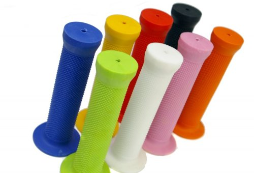 Skyway BMX Grips Griffe Fahrrad Griff, Farbe:Weiss