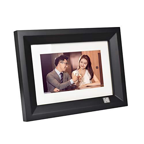 Kodak High Resolution 1024 x 600 7' Digital Photo Frame - Bl