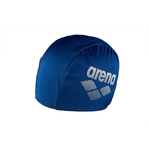 ARENA Unisex Badekappe Polyester II Schwimmen Unisex Erwachsene, Blau, Einheitsgröße (Herstellergröße: TU)