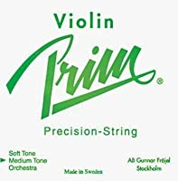 Prim 4/4 Violin String Set - Medium Gauge with Ball-end E [並行輸入品]