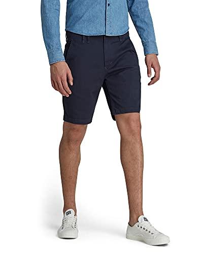 G-STAR RAW Vetar Slim Shorts, Mazarine Blue C072-4213, 32W Hommes