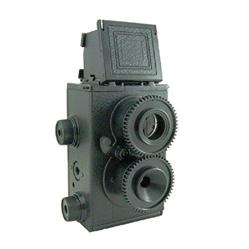 Pixco DIY Holga Lomo Cámara TLR Doble Lente Reflex 35mm Gakken