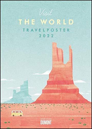 Travelposter 2022 – Reiseplakate-Kalender von DUMONT– Wand-Kalender – Poster-Format 50 x 70 cm