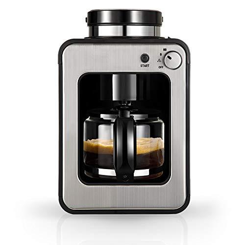 DWLXSH Automatische Kaffeevollautomat, Cappuccino und Espresso-Maschine, Filter Anti-Drip-System Kaffeemaschine Haushaltsklein Automatische Smart-Isolierung