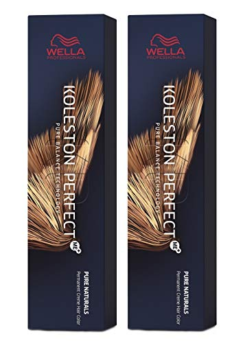 Wella 2 er Pack Koleston Perfect Me+ KP PURE NATURALS 7/07 mittelblond natur-braun