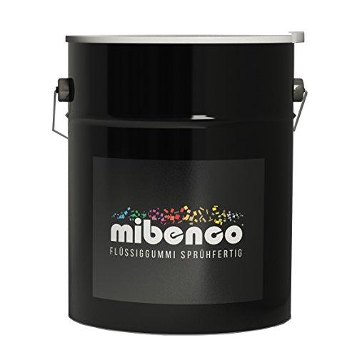 mibenco 73527011 Flüssiggummi Sprühfertig, 5 L, Eisengrau Matt  - Zur Fahrzeugbeschichtung