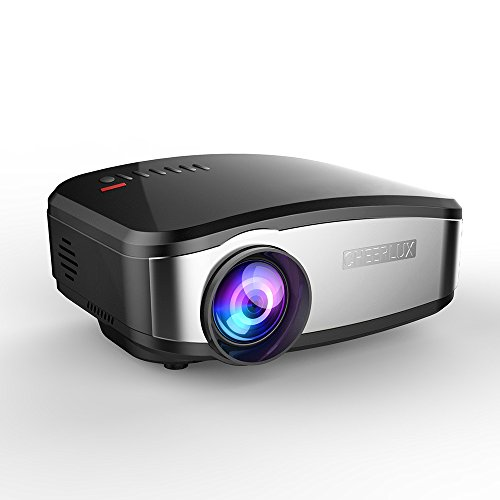 Projector, Mini LED Multimedia Video LCD Projector 1200lumen Max 130'' Screen...