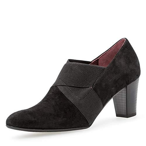 Gabor Damen Comfort Fashion Pumps, Schwarz (Schwarz (Fu Rot) 47), 40 EU