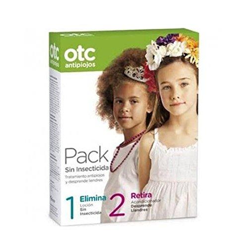 Pack sin insecticida (Loción 125 ml + Acondicionador retira liendres 125 ml) OTC (A partir de 2 años)