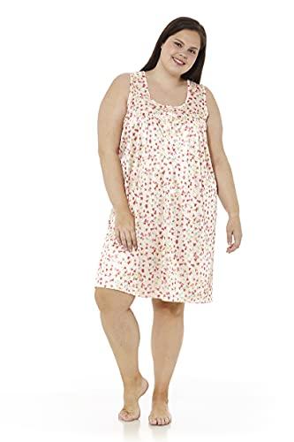 Mabel Intima Camisones Talla Grande Verano Camisola Tirantes Camisión Talla 54