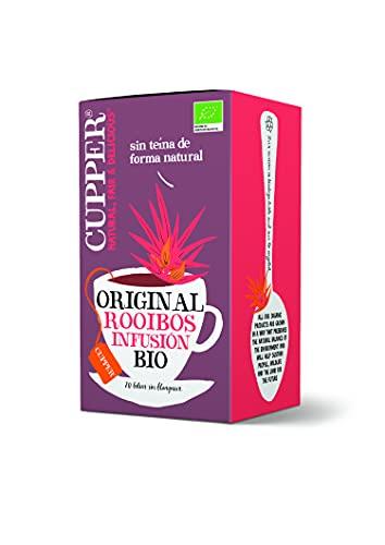 CUPPER Infusión Just Rooibos Bio, 20 Bolsas 40 ml
