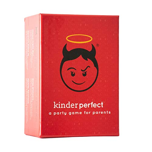 KinderPerfect - The Hilarious Parents Party Card Game for Adult Game Nights Baby Showers Family Reunions